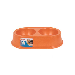 Grossiste Gamelle double bambou orange - PM