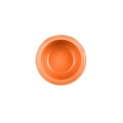 Grossiste Gamelle ronde en en bambou - orange - PM