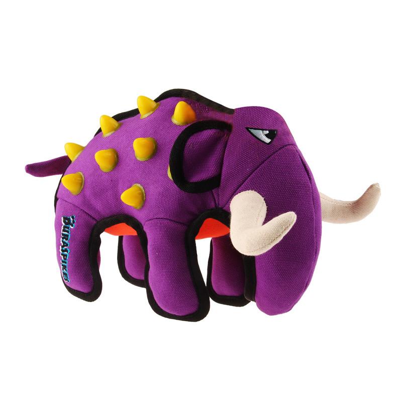 Grossiste Peluche ultra résistante en forme d'éléphant - violet