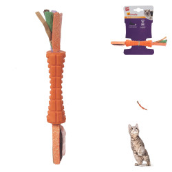 Grossiste Jouet stick orange double en papier pour chat