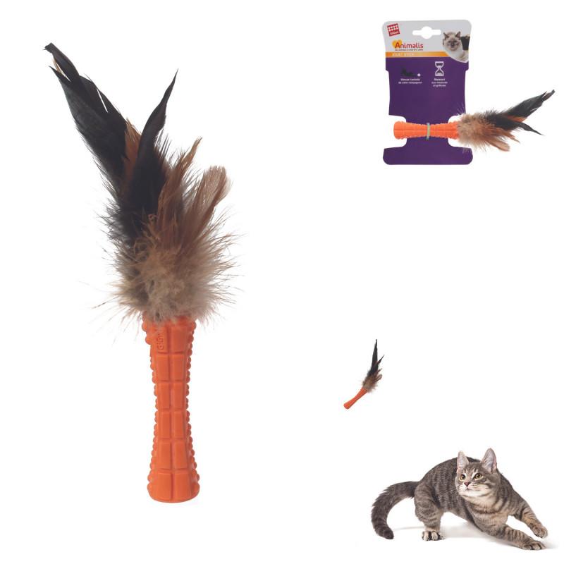 Grossiste Stick orange à plumes