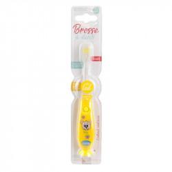 Grossiste et fournisseur. Brosse à dents pour enfants jaune