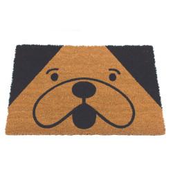 Grossiste paillasson coco illustration tête de chien
