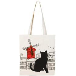 Grossiste Tote bag chat - moulin