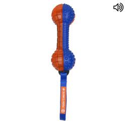 Grossiste Jouet haltère sonore pour chien - orange
