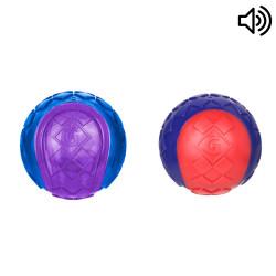 Grossiste Set de 2 balles sonores pour chien - taille M