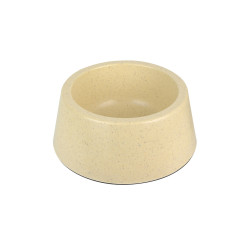 Grossiste Gamelle ronde en en bambou - beige - MM