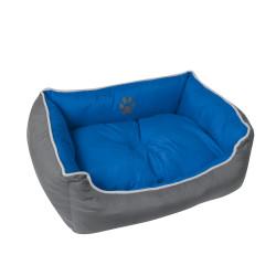 Grossiste corbeille rembourrée bleue - 65x51cm