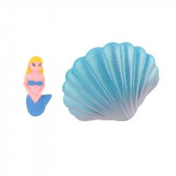 Grossiste et fournisseur. Coquillage magique bleu avec sirène