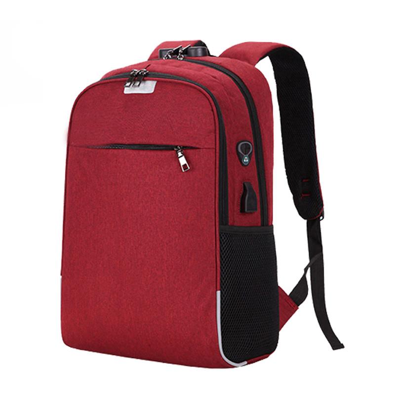 Grossiste sac à dos connecté rouge