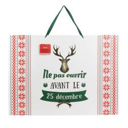 Grossiste sac cadeau Noël 50x18x70cm