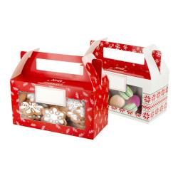 Grossiste boîte à biscuits et chocolats en papier spécial Noël