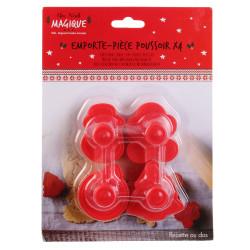 Grossiste emporte-pièce poussoir spécial Noël x4