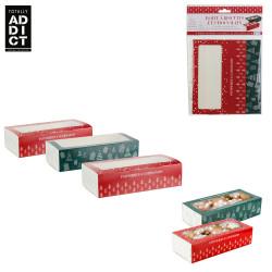 Grossiste boîte à biscuits et chocolats coulissante en papier x3