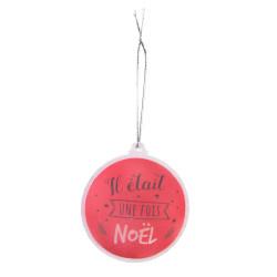 Grossiste boule de Noël LED rouge