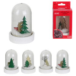 Grossiste cloche LED de Noël de 11x6cm
