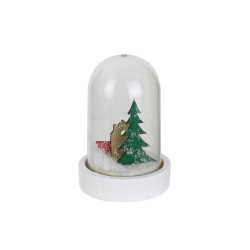 Grossiste cloche LED de Noël de 11x6cm sapin