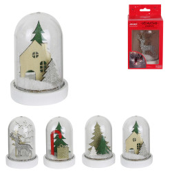 Grossiste cloche LED de Noël de 13x7.5cm