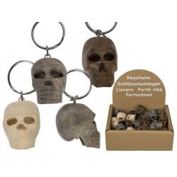 Porte-clés tête de mort