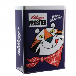 Kellogg's Frosties storage tin