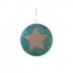 Grossiste boule de Noël LED verte