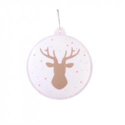 Grossiste boule de Noël LED blanche