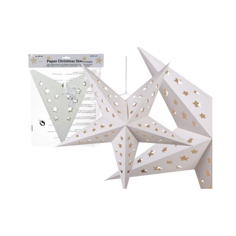 Grossiste etoile de noël en papier de 60 cm